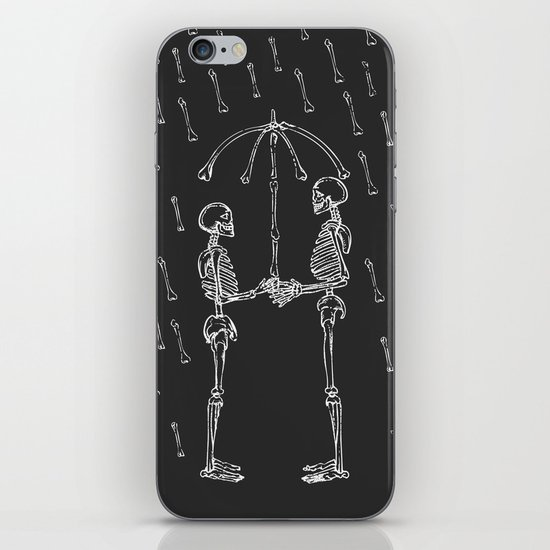 Raining Bone iPhone & iPod Skin