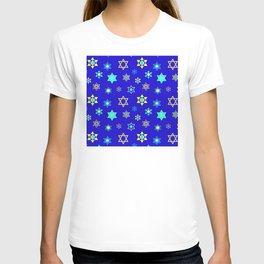 Hanukkah Holidays Celebration of Miracles Pattern T-shirt