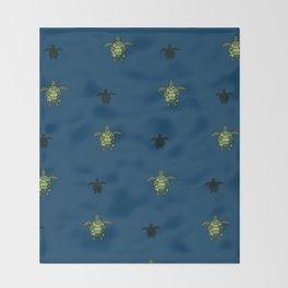 Sea Turtles 2 Throw Blanket