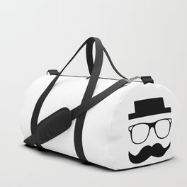 Hipster Mustache Duffle Bag
