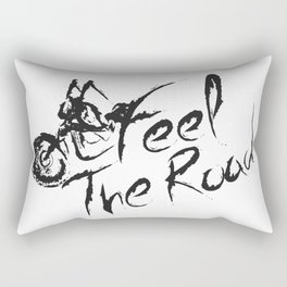 Feel the Road Rectangular Pillow