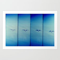 a flight Art Print