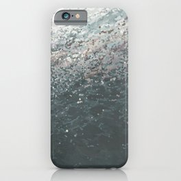 Beneath a Cloudy Sky iPhone Case