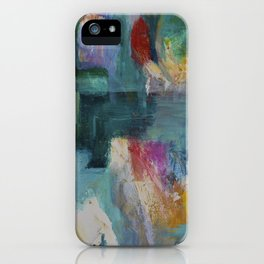 Madras Lilies iPhone Case