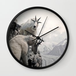 Hi, we are the mountain goats Wall Clock