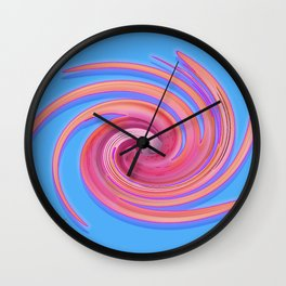 The whirl of life, W1.3C Wall Clock