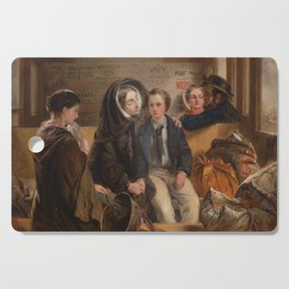 Abraham Solomon - Thus part we rich in sorrow parting poor (1854) Cutting Board