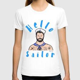 Beard Boy: Hello Sailor T-shirt