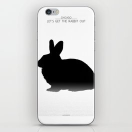 Let's get the rabbit out - Chicago iPhone Skin