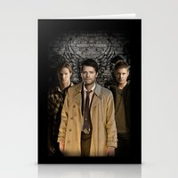 supernatural Stationery Cards featuring Supernatural by SB Art Productions