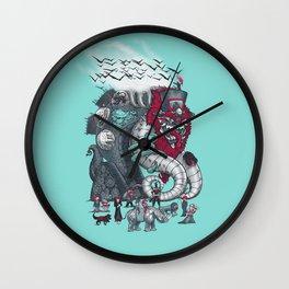 Dark Circusbot Wall Clock
