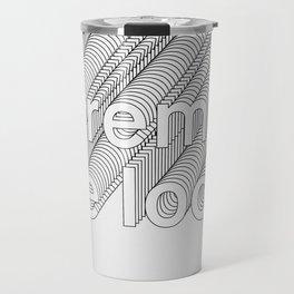 Lorem de Loop #019 Travel Mug
