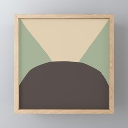 Deyoung Chocomint Framed Mini Art Print