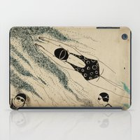 pool iPad Cases featuring Pool by Agne Nananai