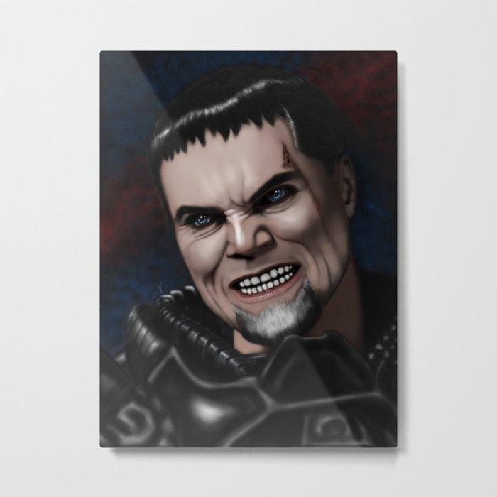 Dru-Zod Metal Print