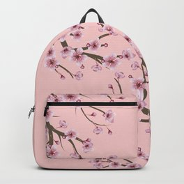 Cherry Blossom Branch Backpack