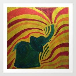 elephant I Art Print