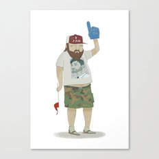 You're number 1! Canvas Print