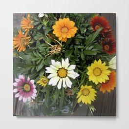 Memorial Day Flowers Metal Print