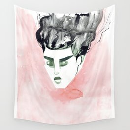 Windy Falling Head Wall Tapestry