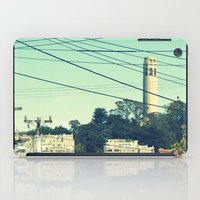 san francisco iPad Cases featuring San Francisco by Mr and Mrs Quirynen