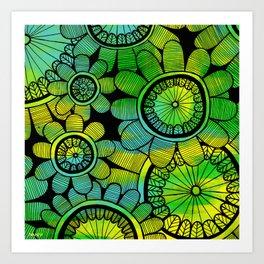 Big Floral 2 Art Print