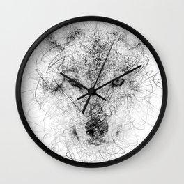 WolF Line Wall Clock