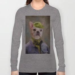 Chic French Bulldog Long Sleeve T-shirt