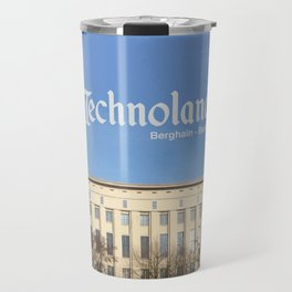 Technoland, Berlin, the Techno Meca Club! Travel Mug