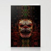 demon Stationery Cards featuring Demon by Zandonai
