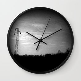 BLACK (PJ tribute) Wall Clock