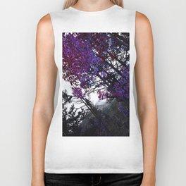 Purple Trees Biker Tank