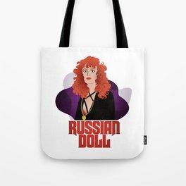 Russian Doll by Netflix (fan art) Tote Bag