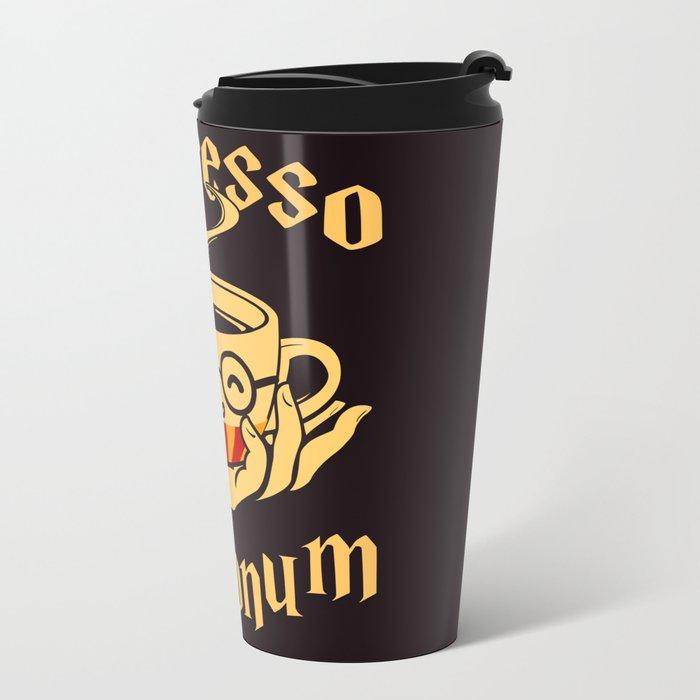 Espresso Patronum Metal Travel Mug