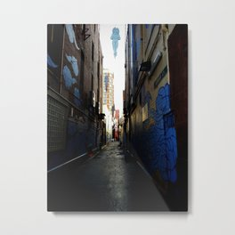 Back Alley Angels Metal Print