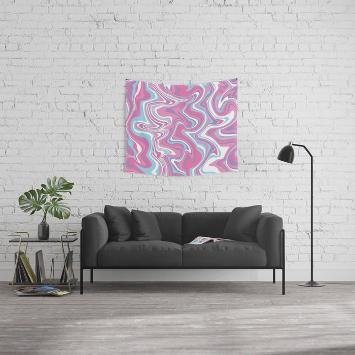 Marbled Pattern [Faux] Wall Tapestry