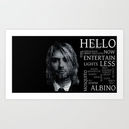 Smells like teen spirit  Art Print