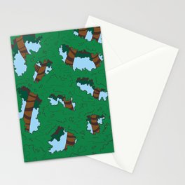 tree people version I Stationery Cards