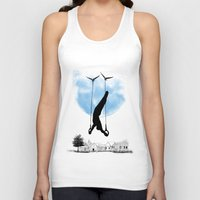 the lord of the rings Tank Tops featuring Lord of the rings by Balazs Solti