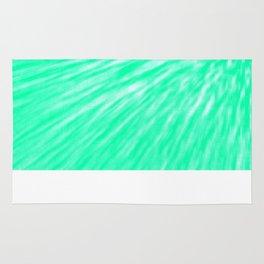 Seafoam Pixel Wind Rug