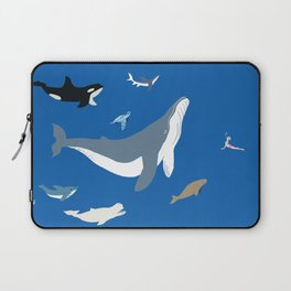 sea yoga Laptop Sleeve