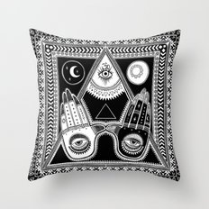WE ARE ONE, WE ARE PEACE tapestry Throw Pillow