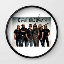 iron maiden tour 2017 ty2 Wall Clock
