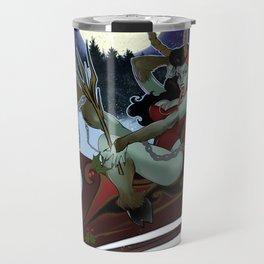Krampus Kake retro Pin-up Travel Mug