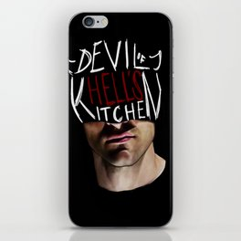 The Devil of Hell's Kitchen iPhone Skin