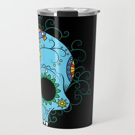 Calavera de azucar Travel Mug