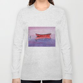 Red Dory Reflections Long Sleeve T-shirt