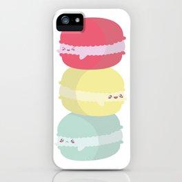 Happy Macarons iPhone Case