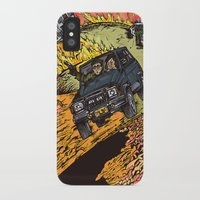 the goonies iPhone & iPod Cases featuring The Goonies by Carol Wellart
