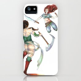 Katarina versus Akali iPhone Case